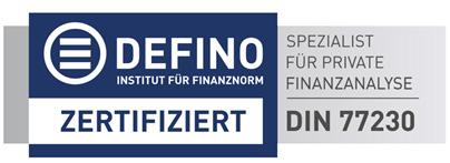 DEFINO Institut für Finanznorm – der neue Standard in der Finanzberatung